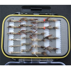 Turrall Fly Pod Hares Ears Selection - FPOD11