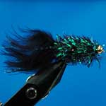 Black Fritz Gh L/S Trout Fishing Fly