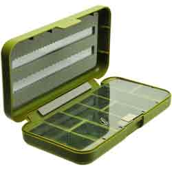 "Richard Wheatley Comp-Lite Tube Fly Box 6"" - 9605"