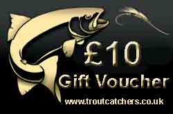 Fishing £10 Gift Voucher - Troutcatchers
