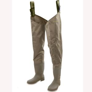 Snowbee 210D Nylon Wadermaster Thigh Wader - Cleated Sole