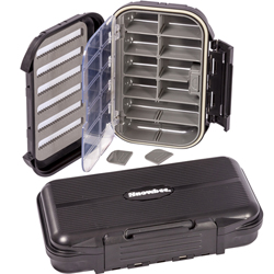 Snowbee Slit-Foam/Compartment Waterproof Fly Box - Large - 14746