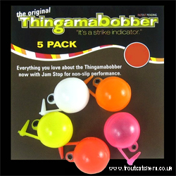 "3/4"" Thingamabobber Multi-Coloured Strike Indicator - 5 Pack"