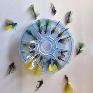 Turrall Fly Wheel Damsel Selection - 22 Damsel Flies