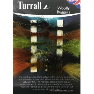 Woolly Worms Turrall Fly Selection - WBS