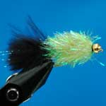 Black/Lime Fritz Gh L/S Trout Fishing Fly #10 (Fr2)