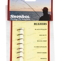 Snowbee Buzzer Fly Selection - SF100