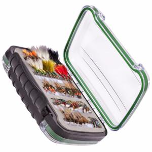 Snowbee Easy-Vue Waterproof Fly Box - Medium - 14742