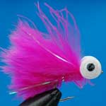 Pink Booby Trout Fishing Fly #10 (Bo20)