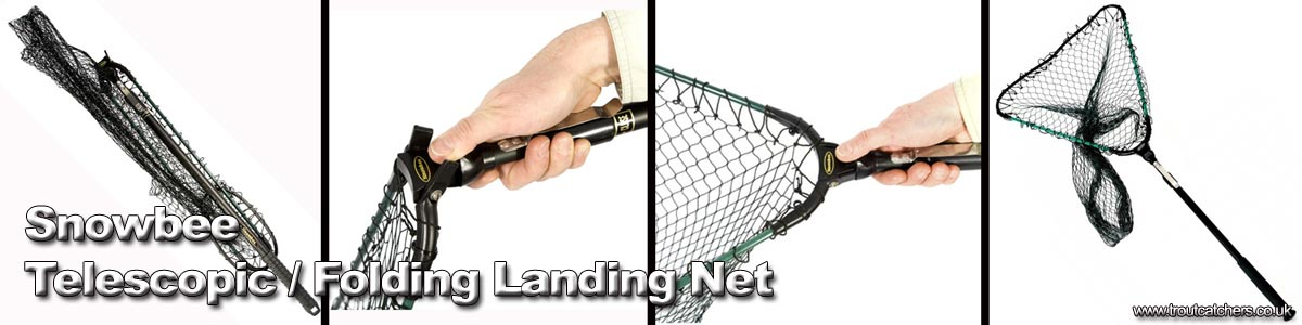 Snowbee Telescopic-Folding-Landing-Net