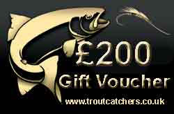 Fishing £200 Gift Voucher - Troutcatchers