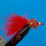 Nomad Fritz Red Fritz Gh L/S Trout Fishing Fly #10 (Fr11)