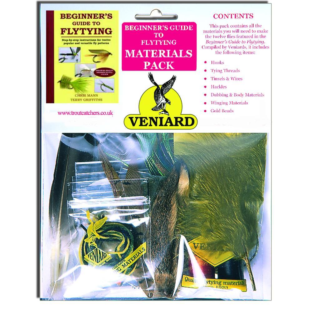 Beginners kit of fly tying materials for Beginner fly fishing kit
