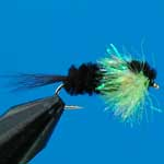 Montana Lime Fritz Gh L/S Trout Fishing Fly #12 (Fr7)