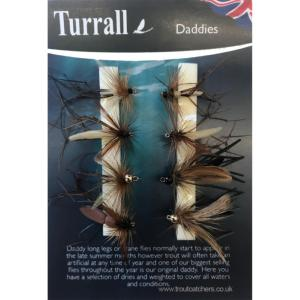 Daddy Long Legs Turrall Fly Selection - DLS