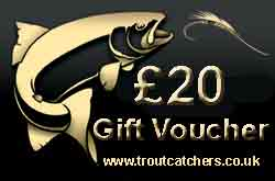 Fishing £20 Gift Voucher - Troutcatchers