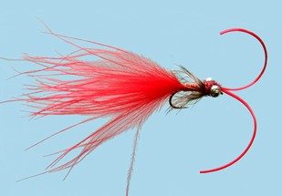 Turrall Damsel Nymphs Kicking Damsel Red - Kd04