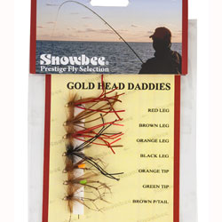 Snowbee Gold Head Daddy Fly Selection - SF115